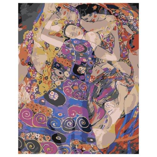 Купить Густав Климт. The Virgin Раскраска картина по номерам на холсте Z-AB187 40х50, Живопись по номерам, Картины по номерам и контурам