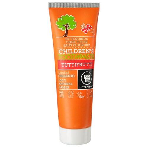 Купить Зубная паста Urtekram Tuttifrutti Organic, 75 мл, Гигиена полости рта