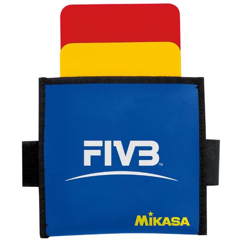 Волейбольные судейские карточки Mikasa VK, красный/желтый