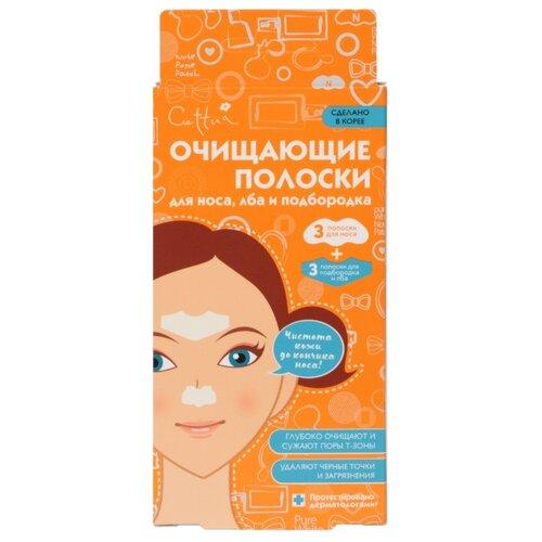 Cettua Очищающие полоски для носа, лба и подбородка, 21 г, 6 шт. фото