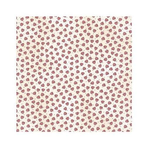 Ткань PePPY 4514 для пэчворка фасовка 50 x 55 см 156 г/кв.м сердечки 104