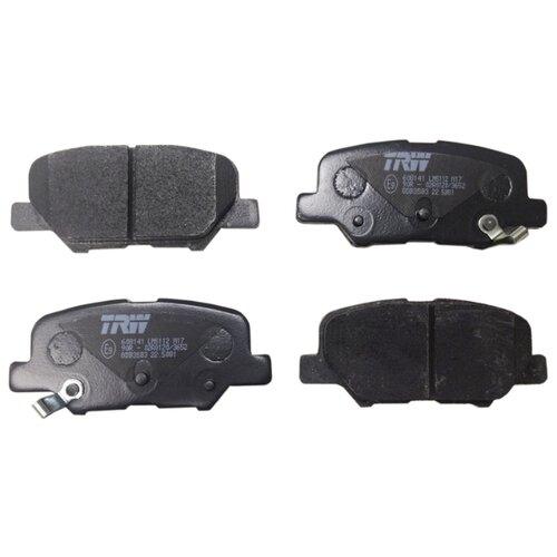 Дисковые тормозные колодки задние TRW GDB3583 для Citroen, Mazda, Mitsubishi, Peugeot (4 шт.) фото