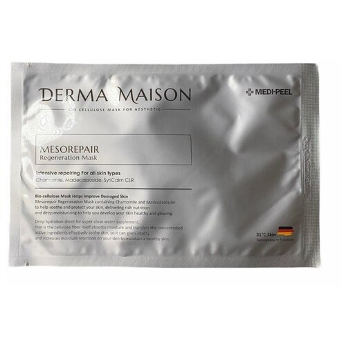 MEDI-PEEL Регенирирующая маска для лица Derma Maison Mesorepair Regeneration Mask, 30 мл набор medi peel premium daily