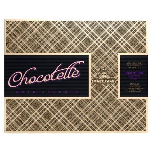 Набор конфет Sweet Fargo Премиум шокотелле в темном шоколаде 230 г бежевый laima царицино ассорти конфет в темном шоколаде 360 г