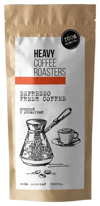 Отзывы покупателей о Кофе молотый Heavy Coffee Roasters Espresso на Яндекс.Маркете