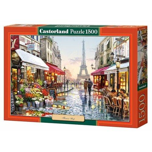Купить Пазл Castorland Flower Shop (C-151288), 1500 дет., Пазлы