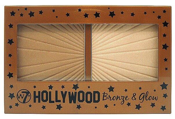 W7 Хайлайтер и бронзер Hollywood Bronze & Glow — цены на Яндекс.Маркете
