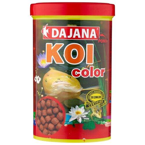 Сухой корм для рыб Dajana Pet Koi Color 1000 мл 400 г pearl pet dog jewelry necklace random color