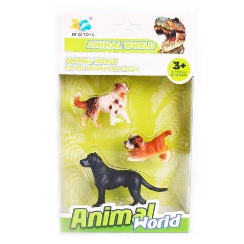 Купить Фигурки Наша игрушка Animal World Собаки Y19320083, Игровые наборы и фигурки