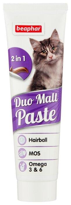 Добавка в корм Beaphar Duo Malt Paste для кошек