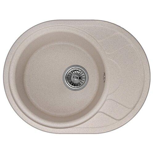 Фото - Врезная кухонная мойка 57.5 см Granula 5802 песок врезная кухонная мойка 57 5 см granula 5802 антик