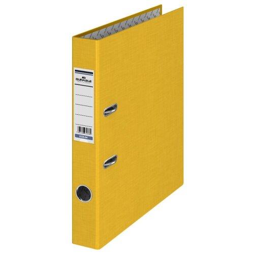 Купить DURABLE Папка-регистратор A4, бумвинил, 50 мм желтый, Файлы и папки