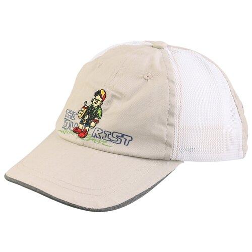 Бейсболка Be Snazzy размер 48, бежевый/белый, Головные уборы  - купить со скидкой