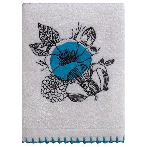 Аллегро полотенце Мальва для лица 50х70 см синий