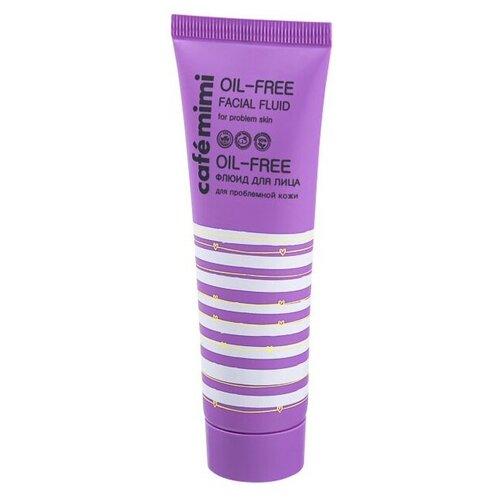Фото - Cafe mimi Oil-Free Флюид для лица, 50 мл питательный крем для лица spf 15 cafemimi nutritious 50 мл