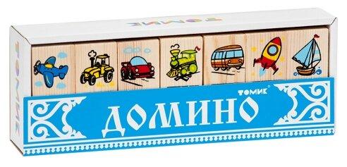 Купить Настольная игра Томик Домино Транспорт по низкой цене с доставкой из Яндекс.Маркета