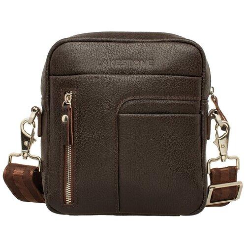 Фото - Сумка через плечо Jones Brown мужская кожаная коричневая сумка milano brown 9282 коричневая