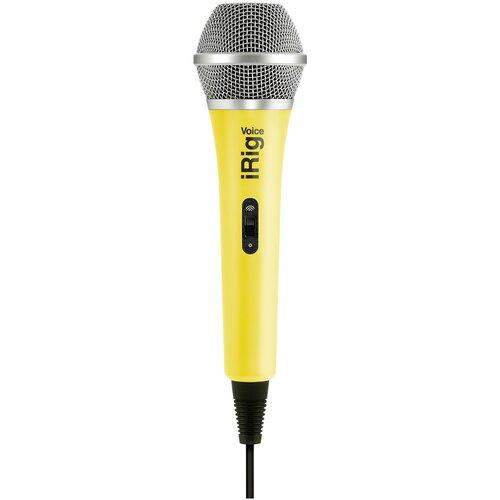 Микрофон IK Multimedia iRig Voice, yellow