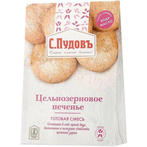 Фото - С.Пудовъ Мучная смесь Цельнозерновое печенье, 0.35 кг с пудовъ мучная смесь печенье имбирное с цукатами 0 4 кг
