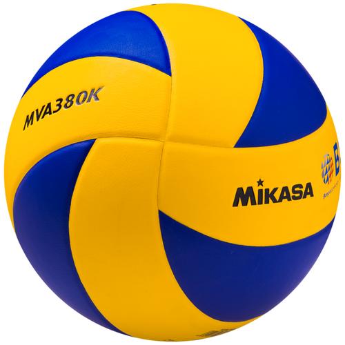 Волейбольный мяч Mikasa MVA380K сине-желтый