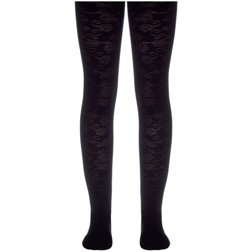 Фото - Колготки Conte Elegant ROSANNA, размер 116-122, nero колготки conte elegant lucia размер 116 122 bianco