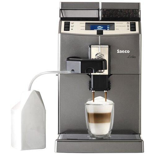 Кофемашина Saeco Lirika One Touch Cappuccino, серебристый