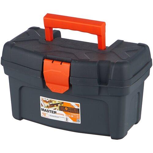 Ящик BLOCKER Master Economy BR6001 32x19.6x18.8 см 12'' серо-свинцовый/оранжевый