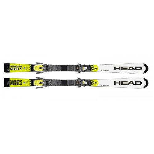 Горные лыжи детские с креплениями HEAD WorldCup Rebels i.SL RD Team (19/20), 120 см