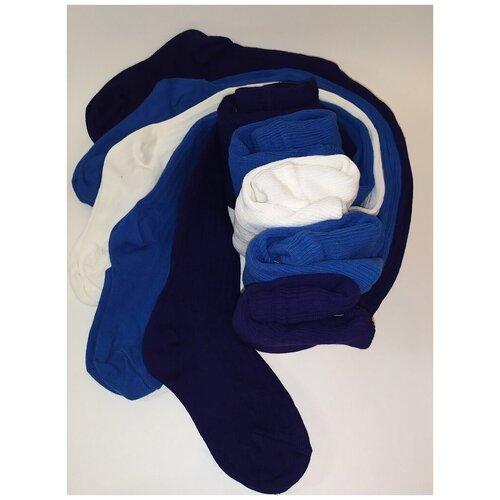 Колготки Сан-Таш, комплект 5 шт., размер 92, белый/голубой/синий