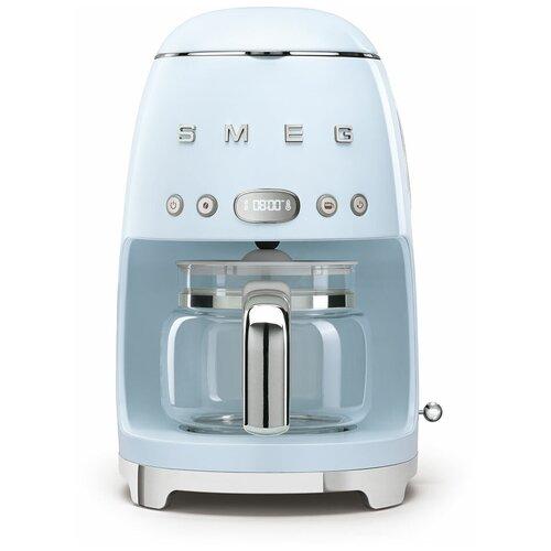 Кофеварка smeg DCF02 пастельный голубой