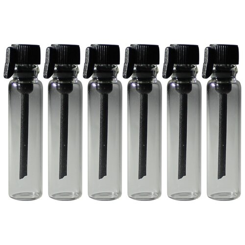 Пробники (фиолки) Aromaprovokator для духов 1 ml крышка черная набор 700 штук