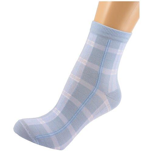 Носки женские LorenzLine Д43, Голубой, 23 (размер обуви 36-37)