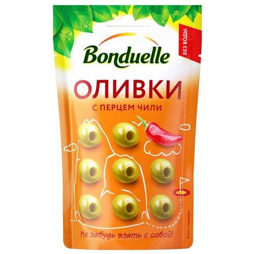 Bonduelle Оливки с перцем чили, 215 мл бальзамический крем leonardi с перцем чили 175 мл