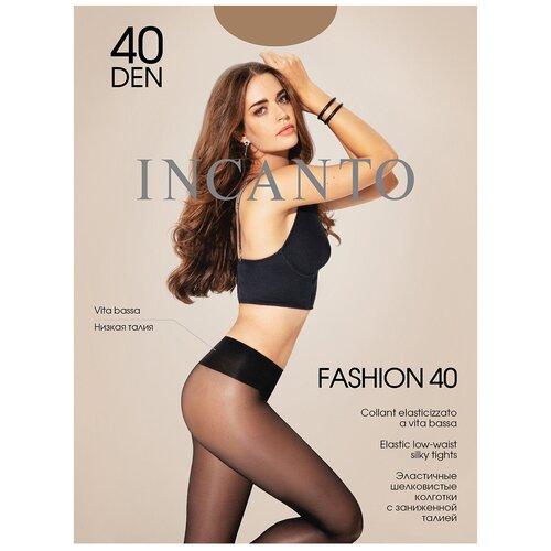 Фото - Колготки Incanto Fashion, 40 den, размер 2-S, daino (бежевый) колготки incanto poudre 40 den размер 2 s daino бежевый