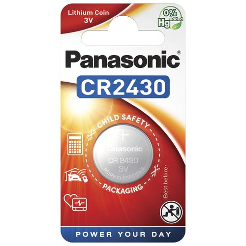 Литиевые дисковые батарейки Panasonic CR-2430EL-1B
