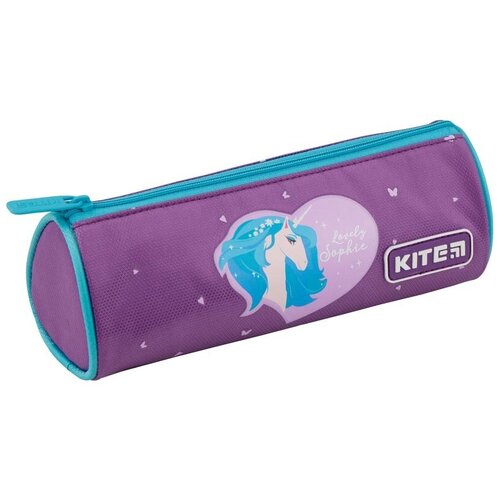 Kite Пенал Lovely sophie (K19-667-4) фиолетовый недорого