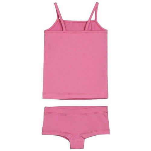 Купить Комплект нижнего белья ЁМАЁ размер 110, светло-розовый, Белье и купальники