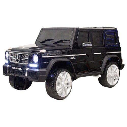 Купить RiverToys Автомобиль Mercedes-Benz G65 AMG 4WD, черный глянец, Электромобили