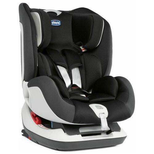 Автокресло группа 0/1/2 (до 25 кг) Chicco Seat Up Isofix, jet black автокресло переноска группа 0 до 13 кг chicco kaily black