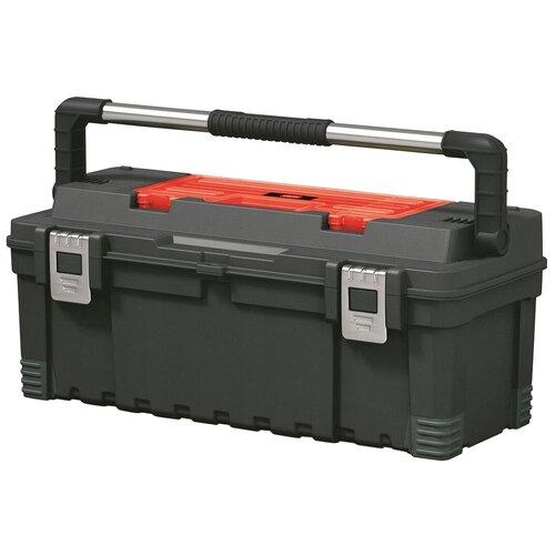 Фото - Ящик с органайзером KETER Master Pro (17181010) 66x28.7x26.6 см 26'' черный/красный ящик keter 2 drawers tool chest 17199303 56 2x28 9x26 2 см 22 красный