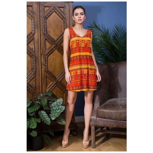 Пляжное платье Mia-Mia Adelin, размер L(48), оранжевый