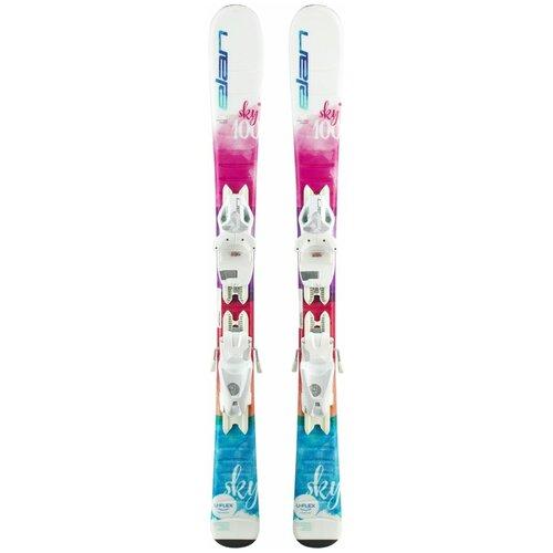 Горные лыжи детские с креплениями Elan Sky QS (19/20), 100 см