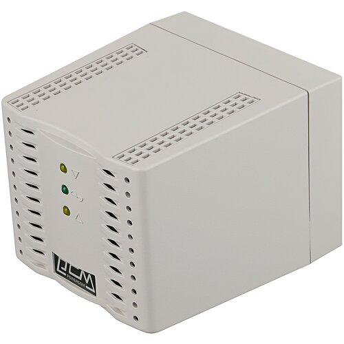 tca 2000 Стабилизатор напряжения однофазный Powercom TCA-2000 (1 кВт) белый