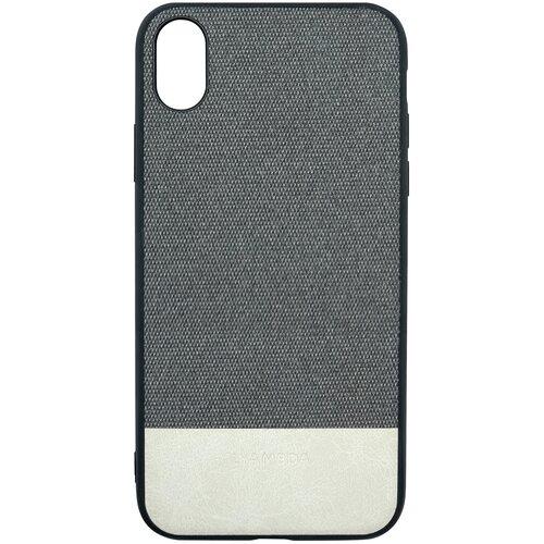 Чехол LYAMBDA CALYPSO для iPhone XS Max (LA03-CL-XSM-GR) Grey чехол клип кейс lyambda calypso для iphone xs max la03 cl xsm br brown