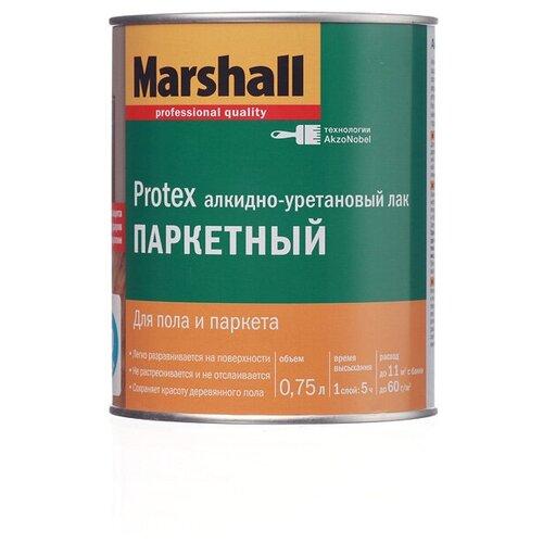 Фото - Лак Marshall Protex Parke Cila 10 алкидно-уретановый бесцветный 0.75 л лак marshall protex parke cila 40 алкидно уретановый бесцветный 2 5 л