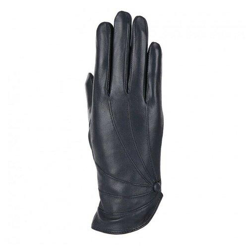 Перчатки женские Fabretti В7-12 р-р 7,5 син зонт складной fabretti fabretti fa003dwfzhc9