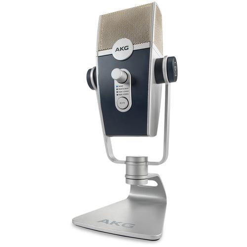 Микрофон AKG Lyra (C44-USB), серый/черный