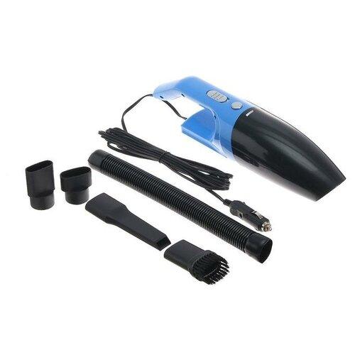 Пылесос автомобильный CARTAGE, 5 насадок, 100 Вт, 12 В, синий 5179742