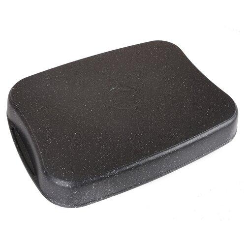 Противень KUKMARA Темный мрамор литой 36,5х26х5,5 см