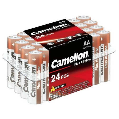 Фото - Батарейка Camelion Plus Alkaline AA, 24 шт. батарейка energizer max plus aa 4 шт